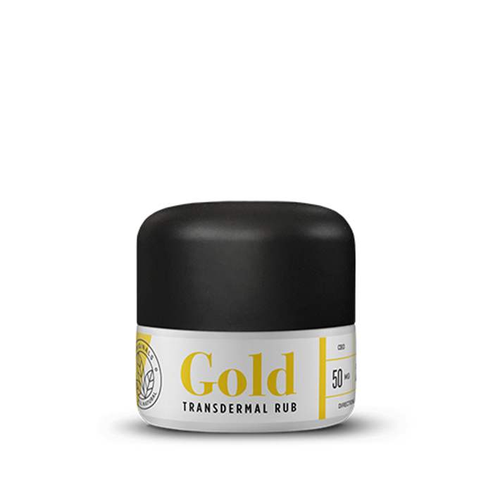 Gold Transdermal Rub