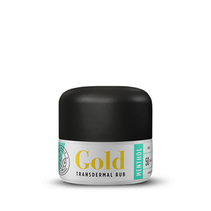 Methol Gold Transdermal Rub