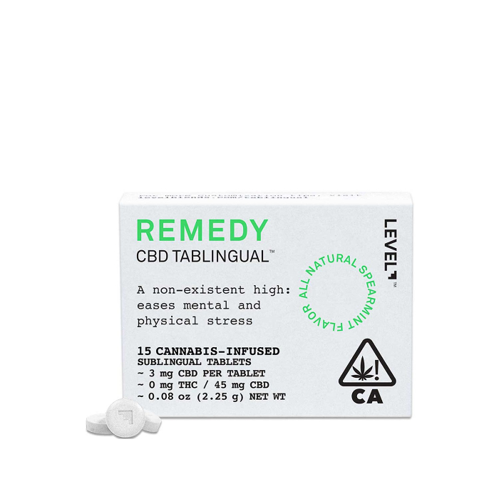 Remedy CBD Tablets (15 count)
