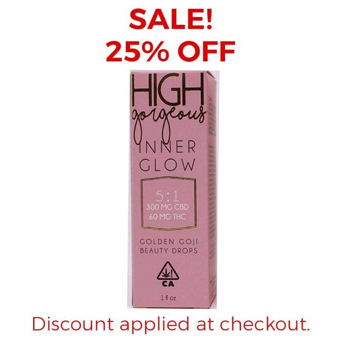 High Gorgeous | Inner Glow 5:1 CBD/THC