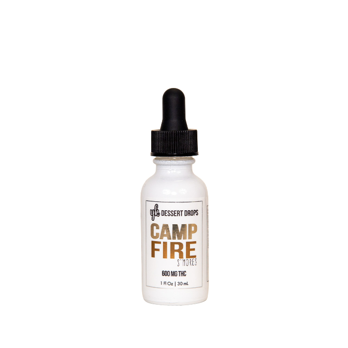 Camp Fire S'mores Dessert Drops
