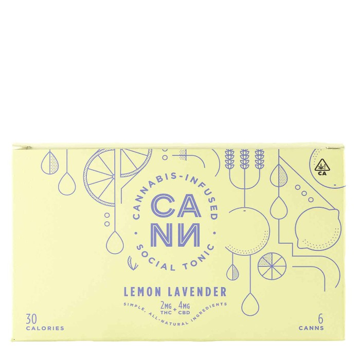 Lemon Lavender | 6 Pack