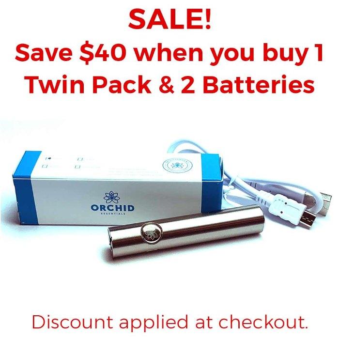 Orchid Essentials Vape Battery