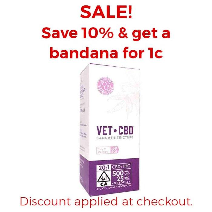 Vet CBD | 20:1 CBD:THC - 4 Oz