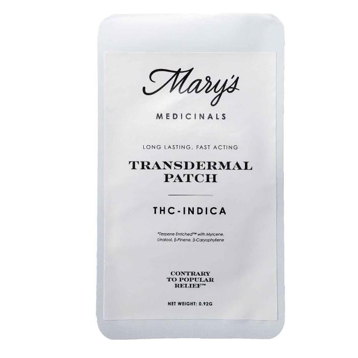Transdermal THC-Indica Patch