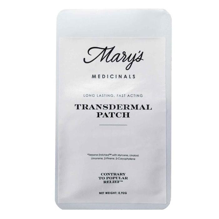 Transdermal THC-Sativa Patch