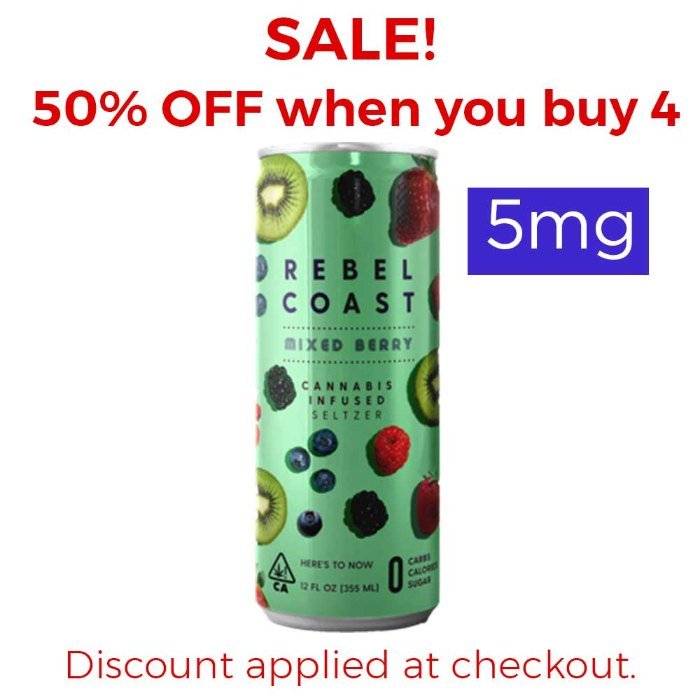 Mixed Berry | 5mg Seltzer