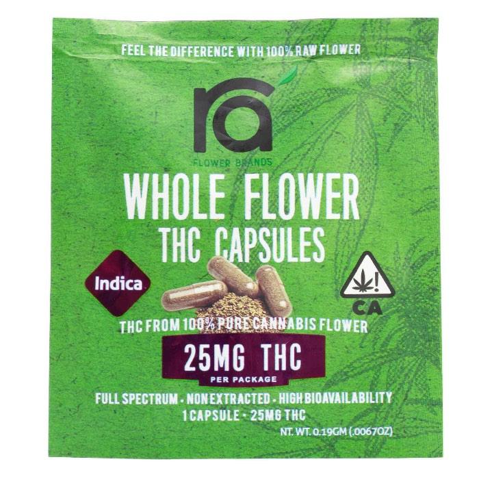 THC Capsules indica