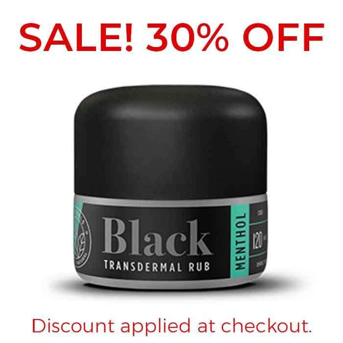 Menthol Black Transdermal Rub