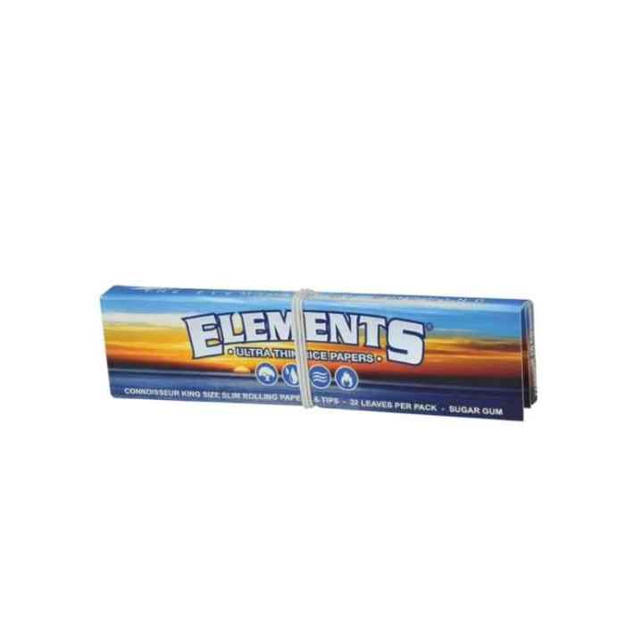 Elements King Size Slim + Tips