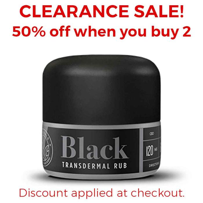Black Transdermal Black