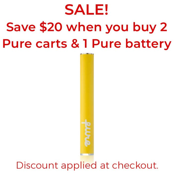 Pure Battery | Yellow