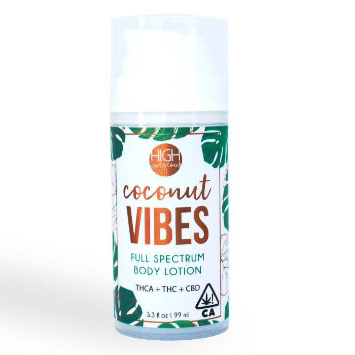 High Gorgeous | Coconut Vibes Body Lotion