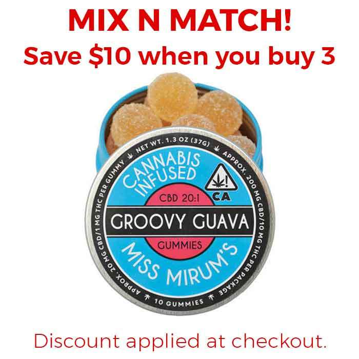 Groovy Guava CBD 20:1 Gummies