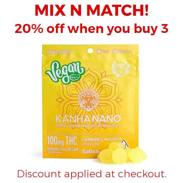 Lucious Lemon Vegan Nano Gummies