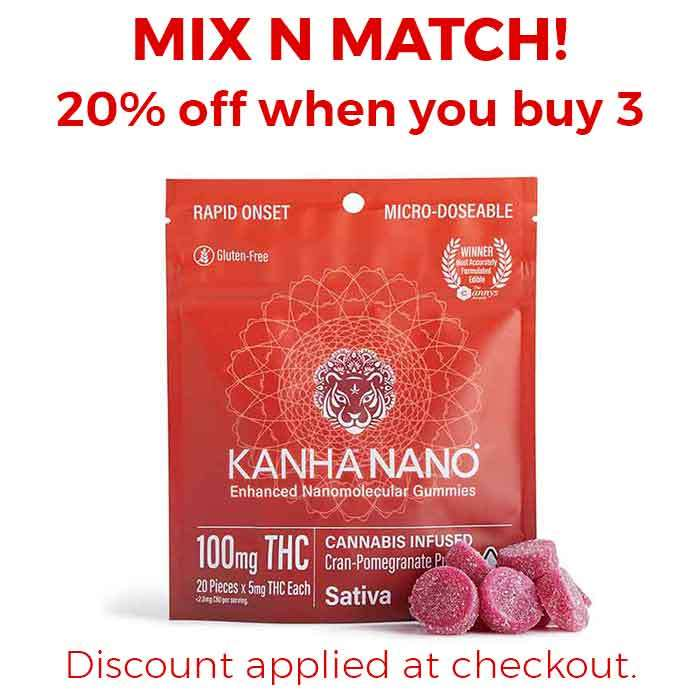 Cran-Pomegranate Punch Micro-Nano Gummies