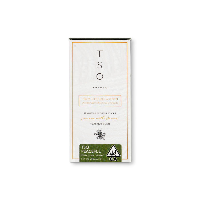 TSO Peaceful   White Tahoe Cookies