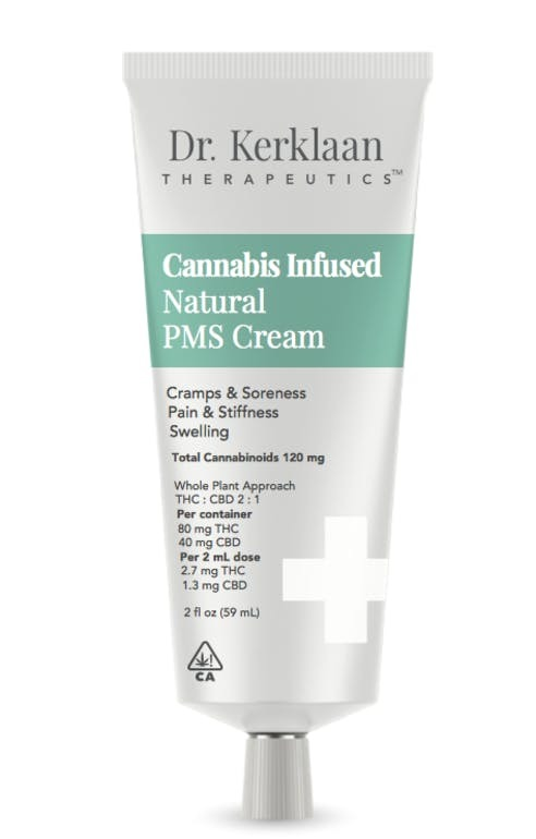 Cannabis Infused Natural PMS Cream