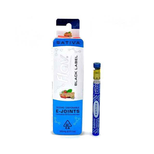 Black Label E-Joint: Strawberry Cough 300mg