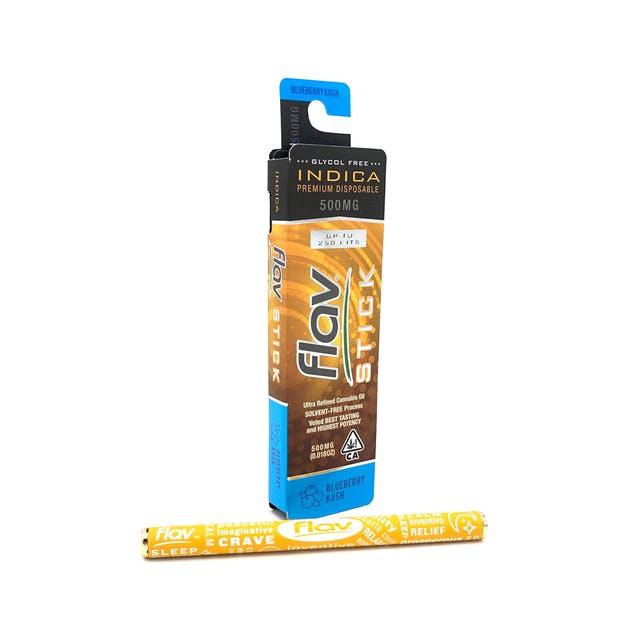 Premium Disposable Stick: Blueberry Kush 500mg