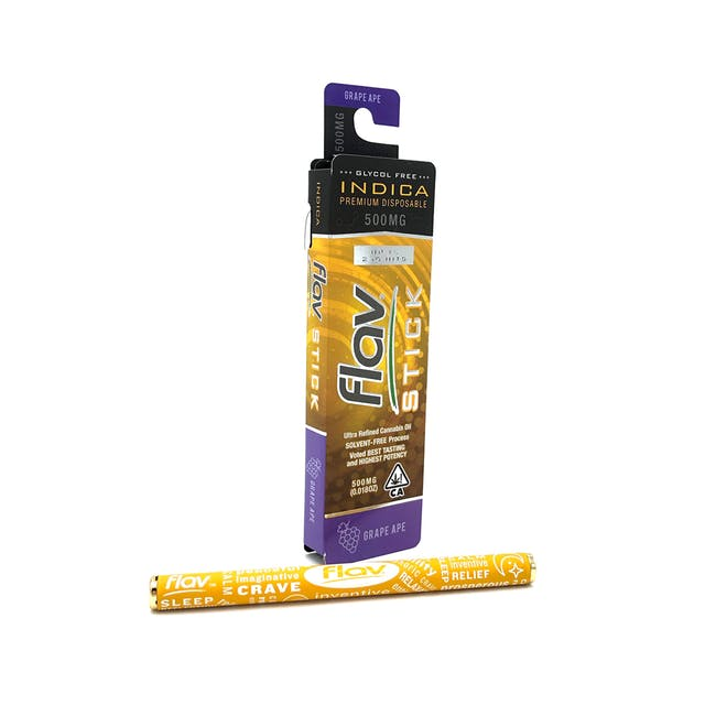 Premium Disposable Stick: Grape Ape 500mg