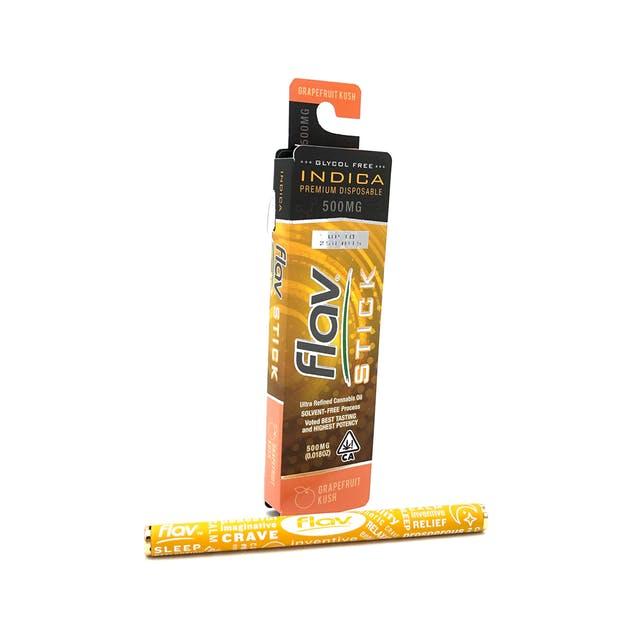 Premium Disposable Stick: Grapefruit Kush 500mg