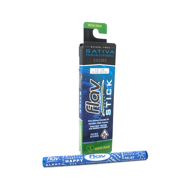 Premium Disposable Stick:  Green Crack 500mg