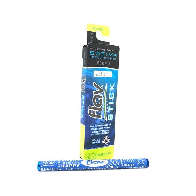 Premium Disposable Stick: Sour Diesel 500mg