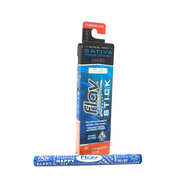 Premium Disposable Stick: Strawberry Cough 500mg