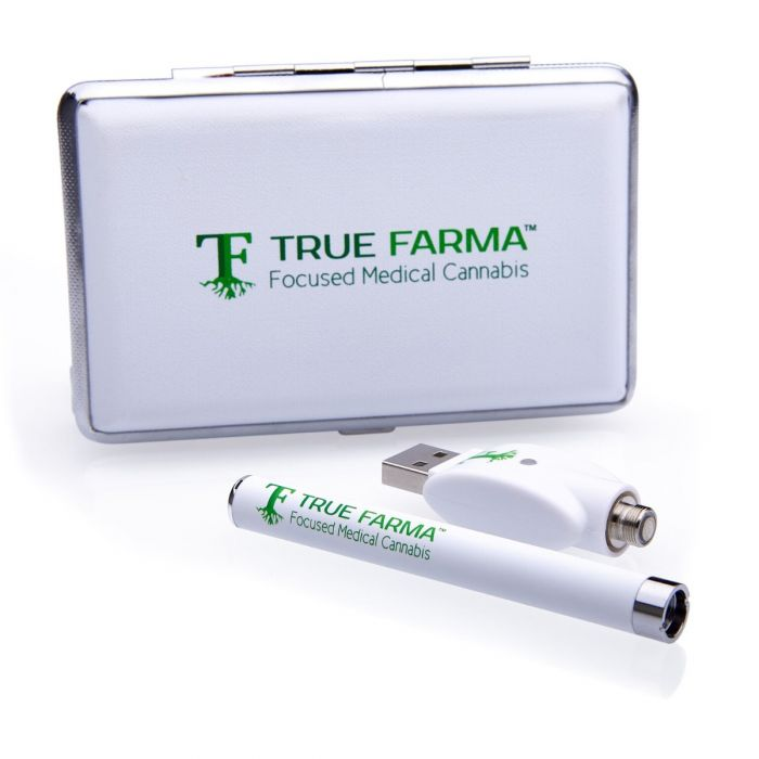 True Farma Vaporizer Pen and Charger w/ Case